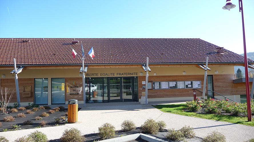 mairie maillat