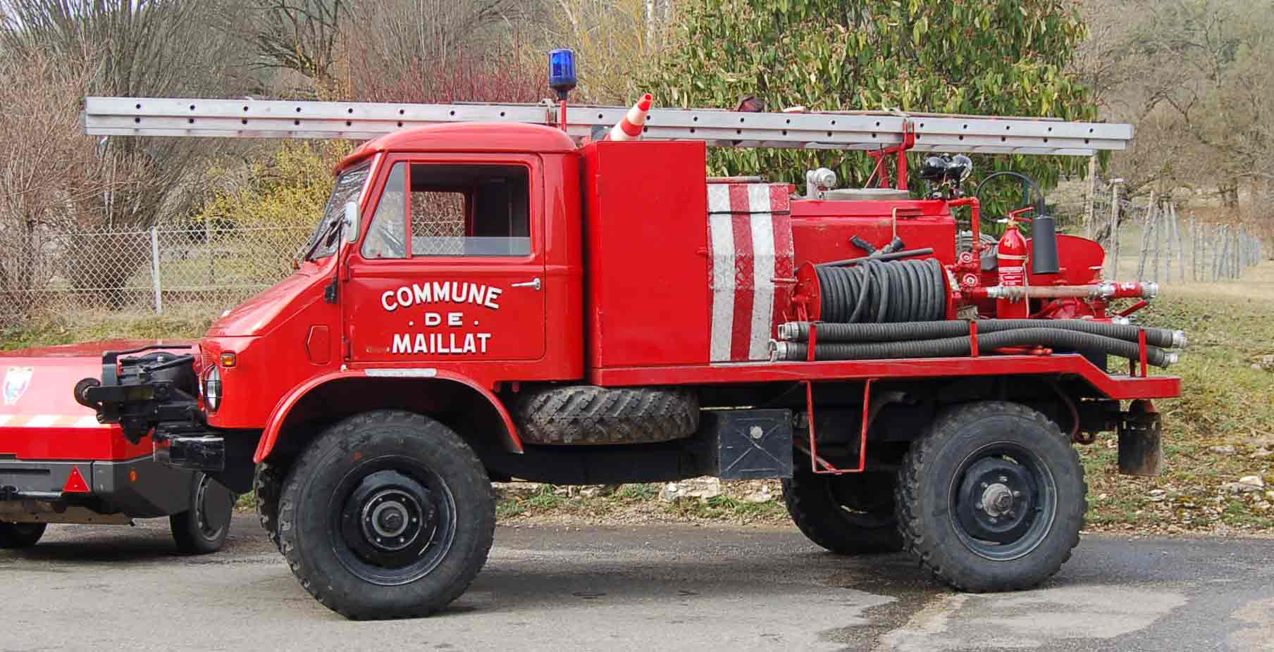 Pompiers Maillat